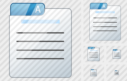 File Card Icon