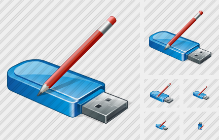 Flash Drive Edit Icon