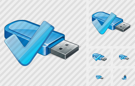 Icone Flash Drive OK
