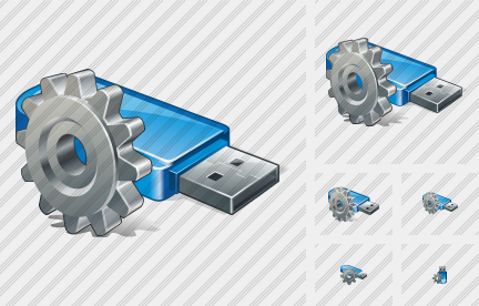 Flash Drive Settings Icon
