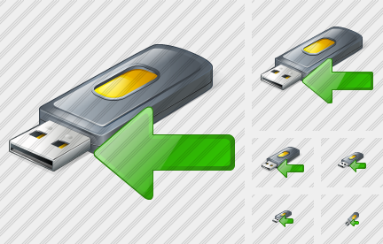 Flash Drive2 Import Icon