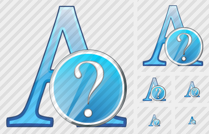 Font Question Icon