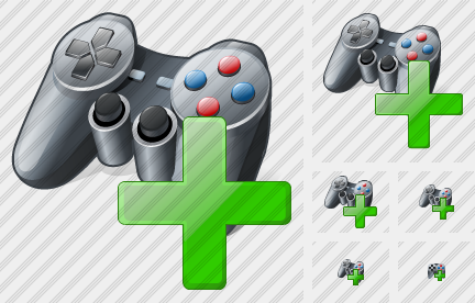 Icone Gamepad Add