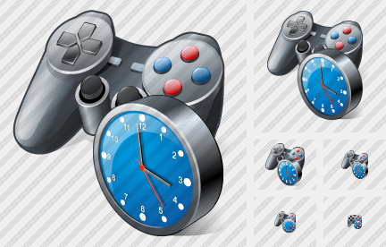 Icone Gamepad Clock