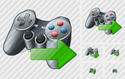 Icone Gamepad Export