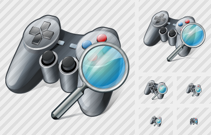 Icone Gamepad Search