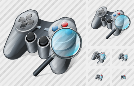 Icone Gamepad Search2