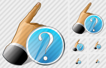 Hand Question Icon