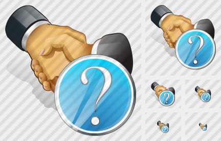 Handshake Question Icon