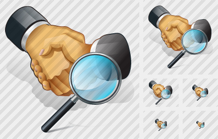 Handshake Search 2 Icon
