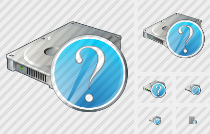 Hard Disk Question Icon