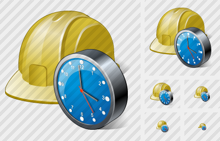 Icone Helmet Clock