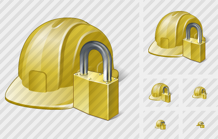 Helmet Locked Icon