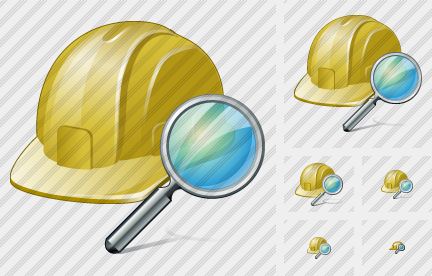Helmet Search Icon