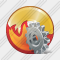 CD Burn Settings Icon