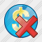 Company Business Delete Icon