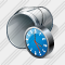 Paint Bucket Clock Icon