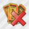 Ticket Delete Icon