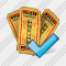 Ticket Ok Icon