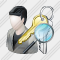 User Administrator Search 2 Icon