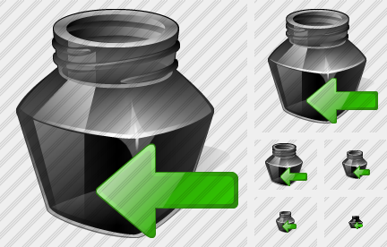 Ink Pot Import Icon