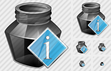 Ink Pot Info Icon
