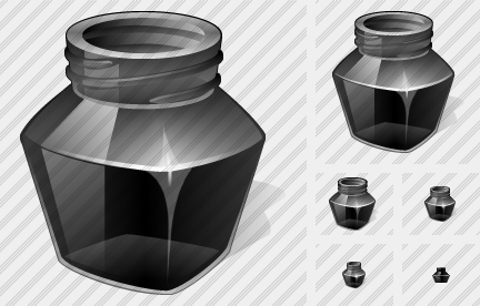 Icone Ink Pot