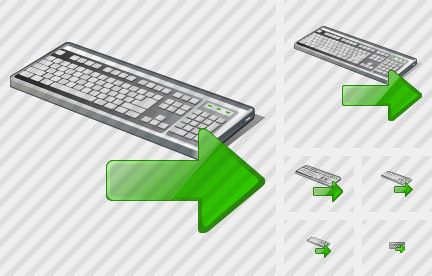 Keyboard Export Icon