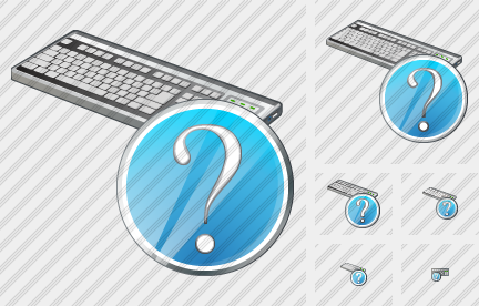Keyboard Question Icon