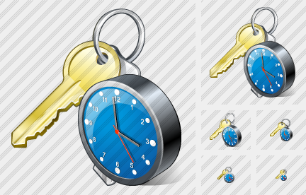 Icone Keys Clock