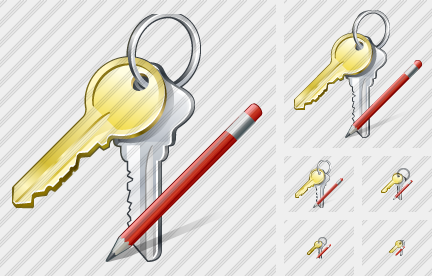 Keys Edit Icon