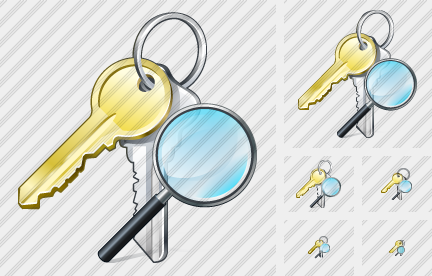 Keys Search 2 Icon