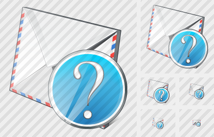Mail Question Icon