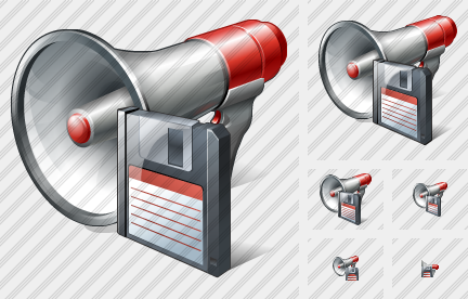 Megaphone Save Icon