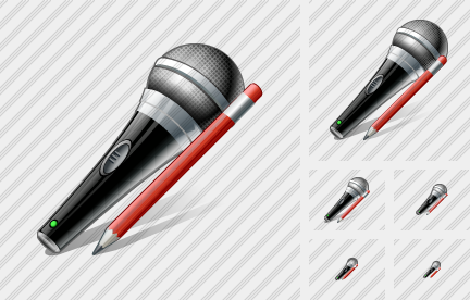 Microphone Edit Icon