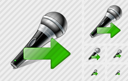 Microphone Export Icon
