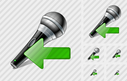 Microphone Import Icon