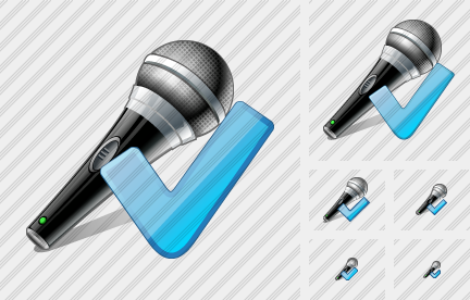 Microphone Ok Icon