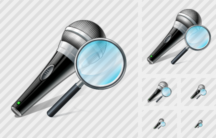 Microphone Search 2 Icon