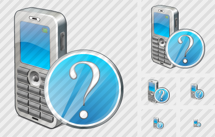 Mobile Phone Question Icon