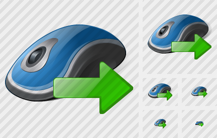 Mouse Export Icon