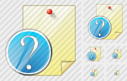 Note Question Icon