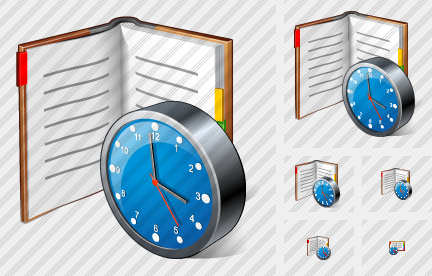 Icone Organizer Clock
