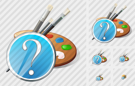 Palette Question Icon