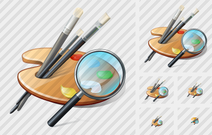 Palette Search 2 Icon