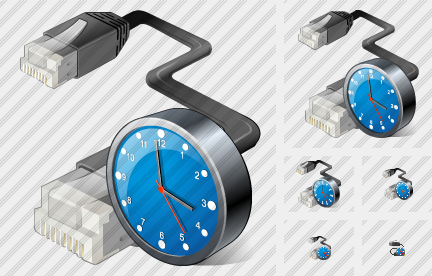 Patchcord Clock Icon