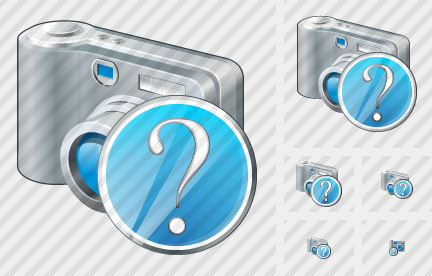 Photocamera Question Icon