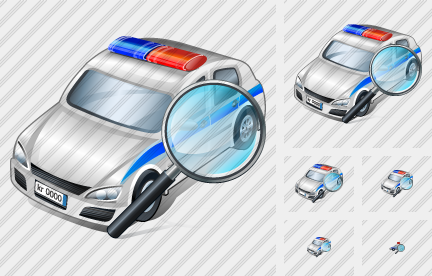 Police Car Search 2 Icon