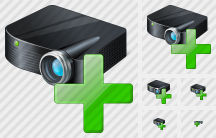 Icone Projector Black Add