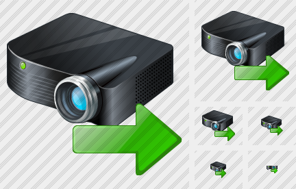 Icone Projector Black Export